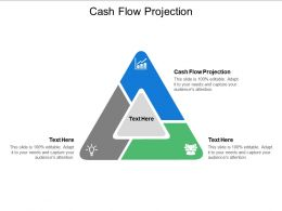 Cash Flow Projection Ppt Powerpoint Presentation Slides Graphics Example Cpb