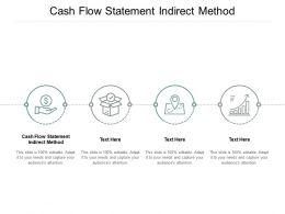 Cash Flow Statement Indirect Method Ppt Powerpoint Presentation Model Show Cpb