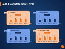 Cash Flow Statement KPIS Increase In Cash Ppt Powerpoint Presentation Styles Background