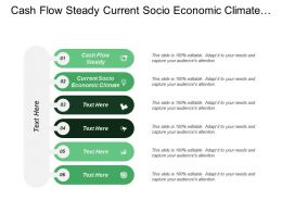 Cash Flow Steady Current Socio Economic Climate International Market
