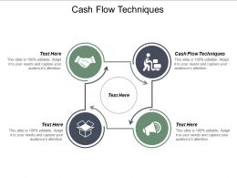 Cash Flow Techniques Ppt Powerpoint Presentation Styles Guide Cpb