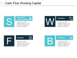 Cash Flow Working Capital Ppt Powerpoint Presentation Slides Deck Cpb