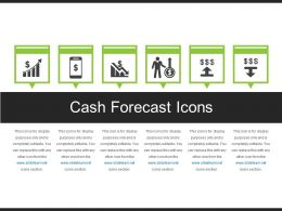 Cash Forecast Icons