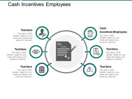 Cash Incentives Employees Ppt Powerpoint Presentation File Templates Cpb