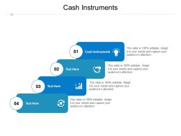 Cash Instruments Ppt Powerpoint Presentation Slides Example Cpb