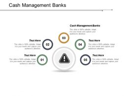 Cash Management Banks Ppt Powerpoint Presentation Pictures Graphics Tutorials Cpb