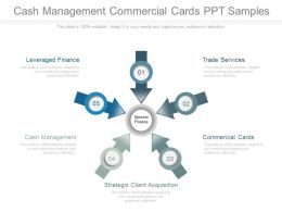 Cash Management Commercial Cards Ppt Presentation
