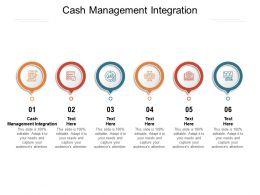 Cash Management Integration Ppt Powerpoint Presentation Summary Graphics Cpb