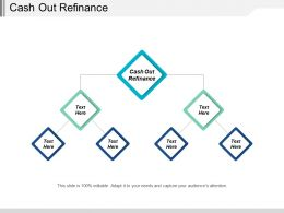 Cash Out Refinance Ppt Powerpoint Presentation File Gallery Cpb