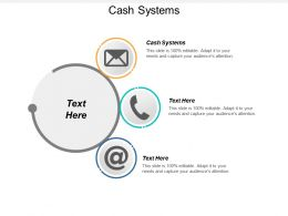 Cash Systems Ppt Powerpoint Presentation File Graphics Pictures Cpb