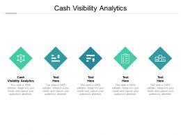 Cash Visibility Analytics Ppt Powerpoint Presentation Inspiration Themes Cpb