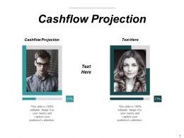 Cashflow Projection Ppt Powerpoint Presentation Portfolio Design Ideas Cpb