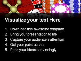 Casino Game Sports PowerPoint Backgrounds And Templates 0111  Presentation Themes and Graphics Slide02