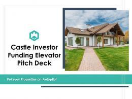 Castle Investor Funding Elevator Pitch Deck Ppt Template
