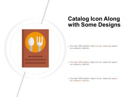 Catalog Icon Along With Some Designs