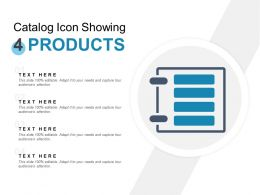 Catalog Icon Showing 4 Products