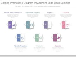 Catalog Promotions Diagram Powerpoint Slide Deck Samples
