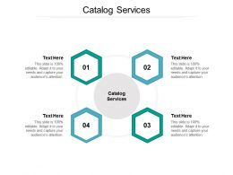 Catalog Services Ppt Powerpoint Presentation Slides Sample Cpb
