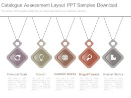 Catalogue Assessment Layout Ppt Samples Download