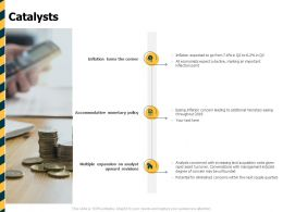 Catalysts Management Ppt Powerpoint Presentation Designs