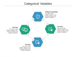 Categorical Variables Ppt Powerpoint Presentation Layouts Tips Cpb