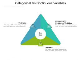 Categorical Vs Continuous Variables Ppt Powerpoint Presentation Slides Outfit