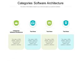 Categories Software Architecture Ppt Powerpoint Diagram Graph Charts Cpb