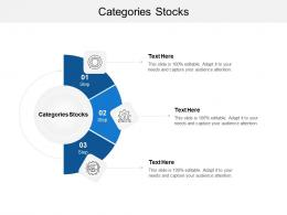 Categories Stocks Ppt Powerpoint Presentation Outline Deck Cpb
