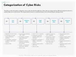 Categorization Of Cyber Risks Medium Ppt Gallery