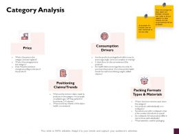 Category Analysis Consumption Drivers Ppt Powerpoint Presentation Styles Show