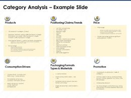 Category Analysis Example Slide Contains Vitamins And Minerals Ppt Powerpoint Presentation Example