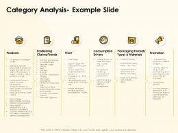 Category Analysis Example Slide Ppt Powerpoint Presentation Gallery