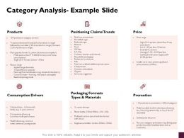 Category Analysis Example Slide Products Ppt Powerpoint Presentation Show Slide Download