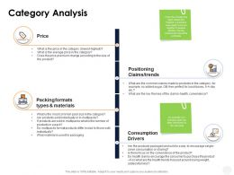Category Analysis Materials Ppt Powerpoint Presentation File Professional