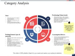 Category Analysis Ppt Summary Designs Download
