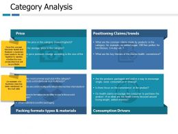 Category Analysis Price Ppt Portfolio Slide Portrait