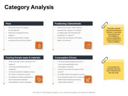 Category Analysis Trends Ppt Powerpoint Presentation Slides Maker