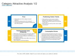 Category Attractive Analysis Product Channel Segmentation Ppt Elements