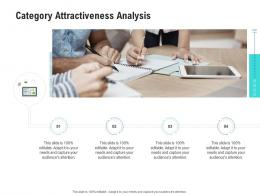 Category Attractiveness Analysis Competitor Analysis Product Management Ppt Infographics