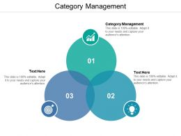 Category Management Ppt Powerpoint Presentation Pictures Good Cpb