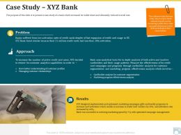 Category Share Case Study Xyz Bank Analytics Capabilities Ppt Templates