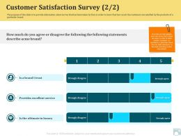 Category Share Customer Satisfaction Survey Excellent Service Ppt Shapes