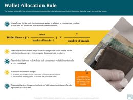 Category Share Wallet Allocation Rule Consumer Uses Ppt Presentation Files