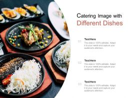 Catering Image With Different Dishes