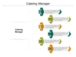 Catering Manager Ppt Powerpoint Presentation Slides Aids Cpb