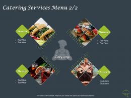 Catering Services Menu Desserts Ppt Powerpoint Presentation Professional Infographic Template