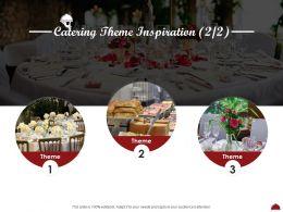 Catering Theme Inspiration L2051 Ppt Powerpoint Presentation Ideas Portrait