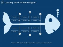 Causality With Fish Bone Diagram