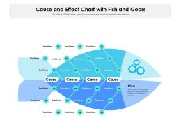 Cause And Effect Chart With Fish And Gears