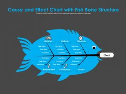 Cause And Effect Chart With Fish Bone Structure